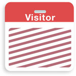 Brady Visitor Badges