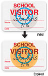 Brady Visitor Badges