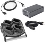 Symbol 4 Slot Battery Charger Kit