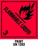 Warning Flammable Liquid