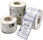 Zebra 8000T Vinyl Clear: Self-Laminating Wire Wrap Label