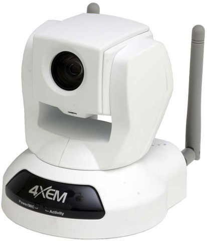 4XEM IPCAMWLPTZ Security Cameras