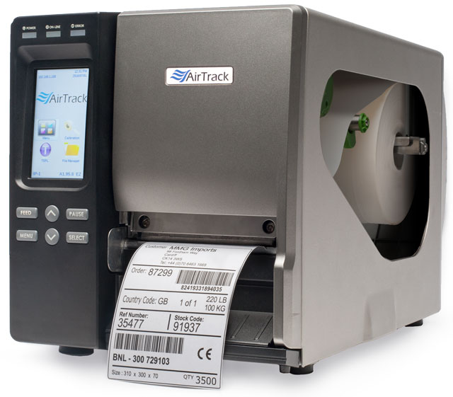 AirTrack IP-1 Thermal Barcode Label Printer