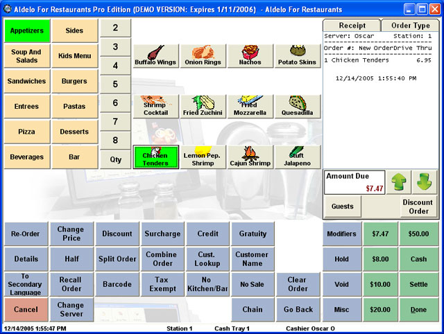 Aldelo For Restaurants Lite Edition Point Of Sale Software