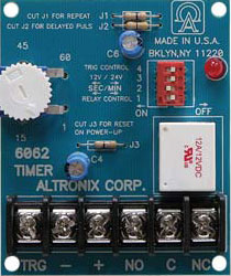 Altronix 6062 Multi-Purpose Timer Module