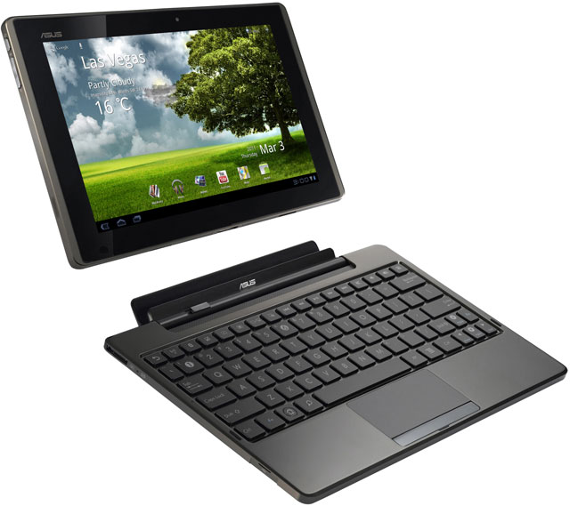 Asus Eee Pad Tablet Computers