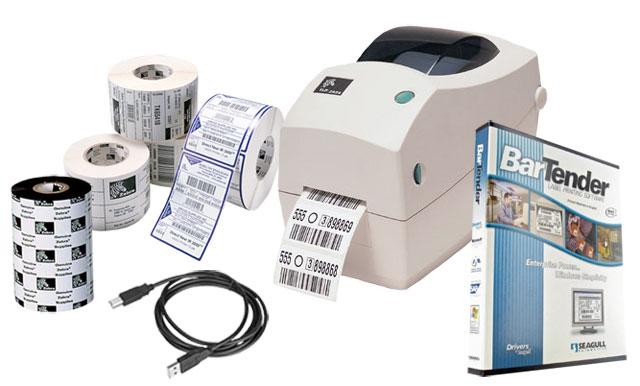 BCI Asset Label Printing Kit