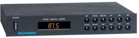 Bogen TP30D Digital Tuner