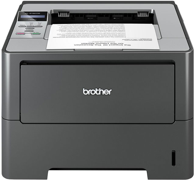 Brother HL-5470DW Thermal Barcode Label Printer