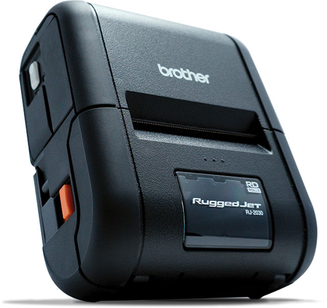 Brother RuggedJet 2 Portable Label Printer