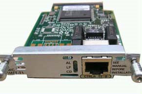 Cisco Multiflex Voice/WAN Interface Card