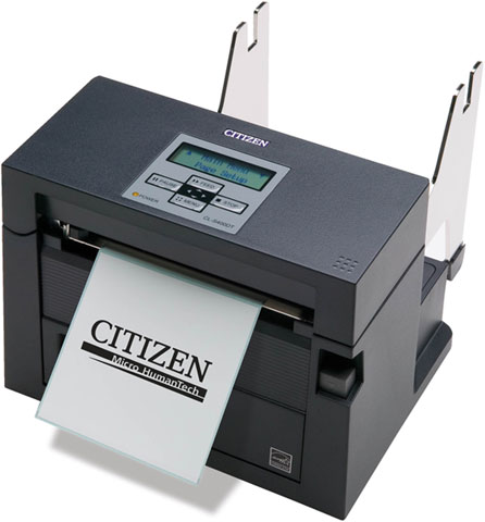 Citizen CL-S400DT Thermal Barcode Label Printer