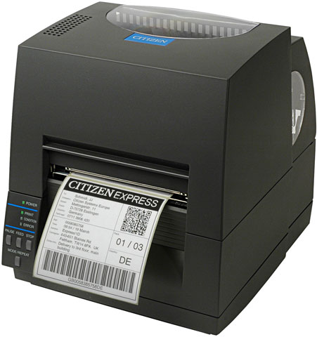 Citizen CL-S621 Thermal Barcode Label Printer