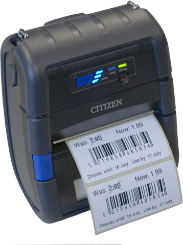 Citizen CMP-30 Portable Label Printer
