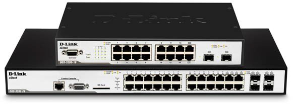 D-Link xStack DGS-3200 Series