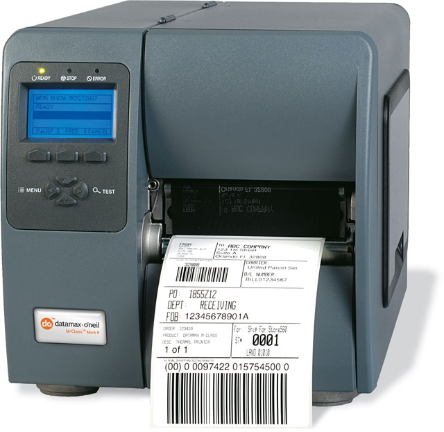 Datamax-O'Neil I-4212 Mark II Thermal Barcode Label Printer
