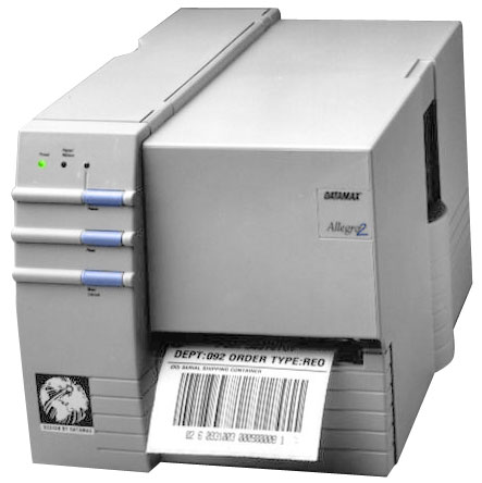 Datamax Allegro 2 Thermal Barcode Label Printer