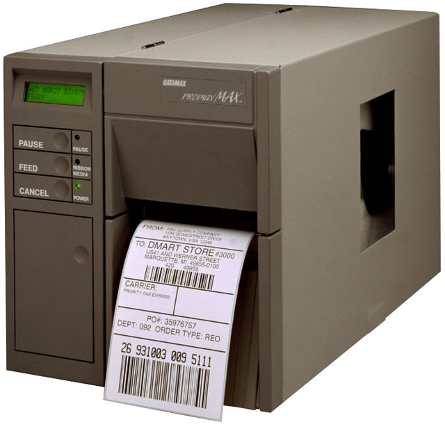 Datamax Prodigy MAX Thermal Barcode Label Printer