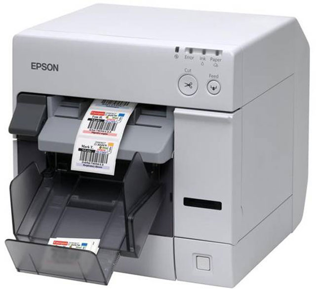 Epson ColorWorks TM-C3500 Thermal Barcode Label Printer