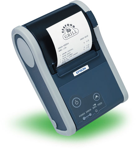 Epson Mobilink TM-P60 Portable Label Printer