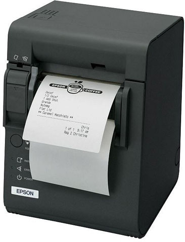 Epson TM-L90 Liner-Free Compatible Thermal Barcode Label Printer
