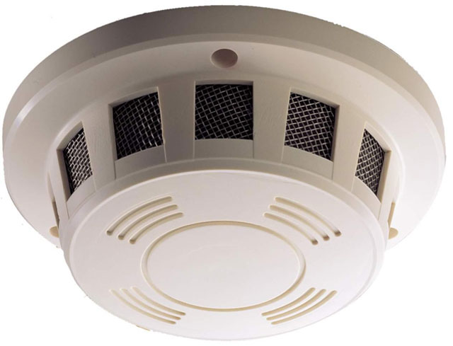 EverFocus ESD 200 Color Smoke Detector Security Cameras