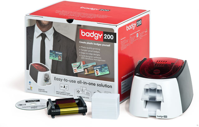 Evolis Badgy200 ID Printer