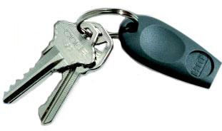 HID HIDT1345-Keyscan 36 bit HID Key Fob