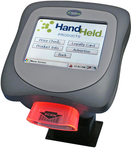 Honeywell ImageKiosk 8560 Fixed/Vehicle Mount Data Terminals