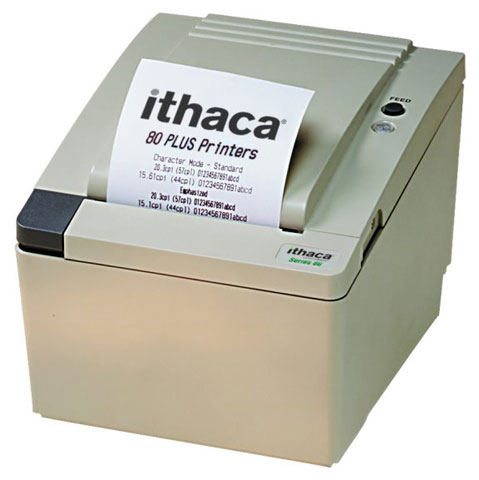 Ithaca 80PLUS POS Printer, 80 PLUS - Barcode Discount