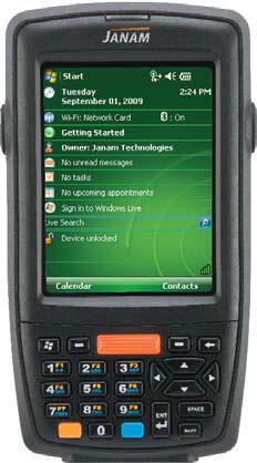 Janam XM66AM Handheld Computers