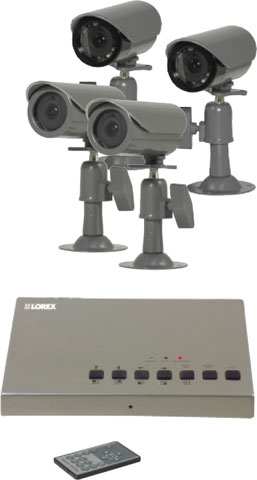 LOREX SHS-4QM2 Security Camera Systems