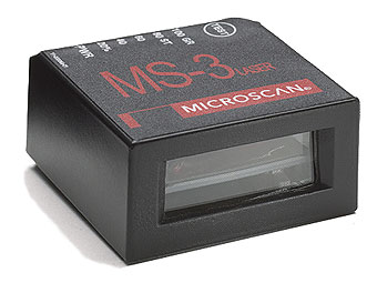 Microscan MS-3 Laser Fixed Mount Barcode Scanners