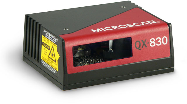 Microscan QX-830 Fixed Mount Barcode Scanners