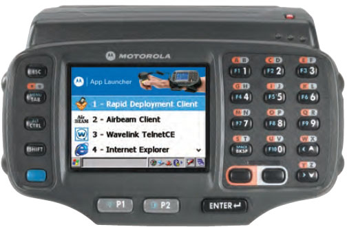 Motorola WT41N0 Handheld Computers