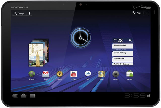 Motorola XOOM Tablet Computers