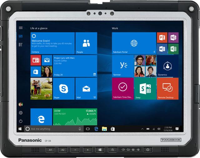 Panasonic Toughbook 33 Ruggedized Laptop