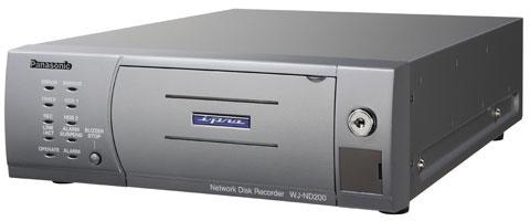 Panasonic WJ-ND200 Series Network/IP Video Recorders