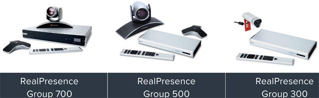 Polycom RealPresence Group Series Video Intercoms, Real