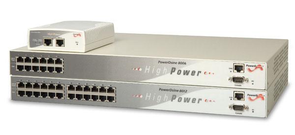 PowerDsine 8001 PoE Midspan