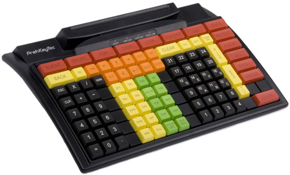 Preh KeyTec MC 128 WX Point of Sale Keyboards