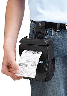 Printek MtP Series: MtP400 Portable Label Printer