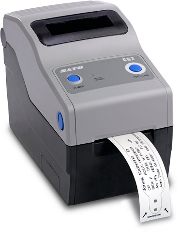 SATO CG208 Thermal Barcode Label Printer