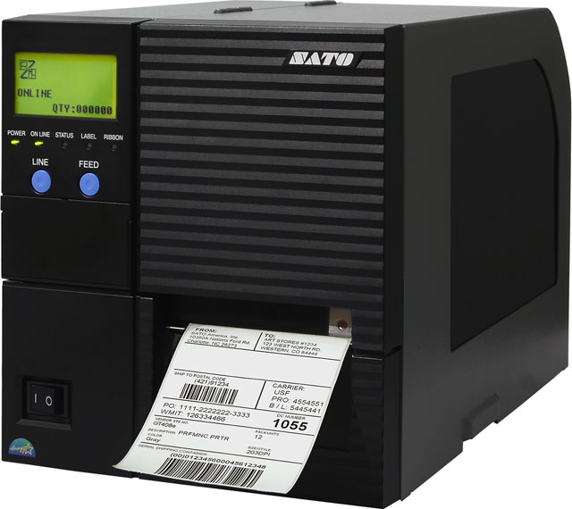 SATO GT408e Thermal Barcode Label Printer