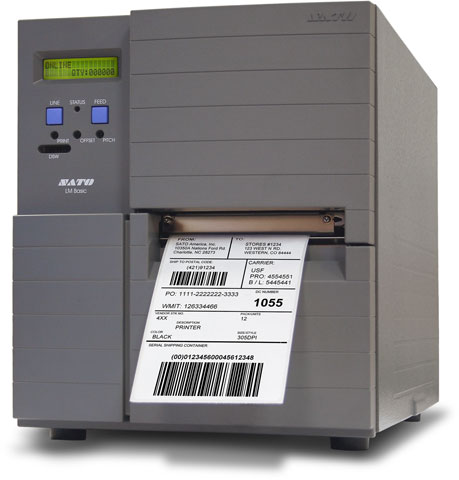 SATO LM408e Thermal Barcode Label Printer