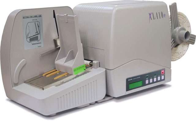 SATO XL410e Thermal Barcode Label Printer