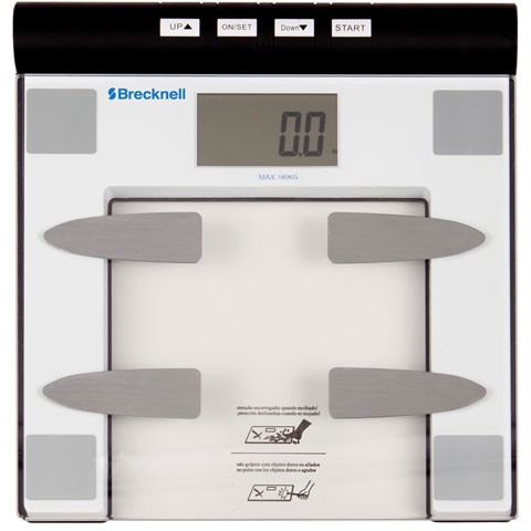 Brecknell BFS-150 Body Fat/Bathroom Scale Scales