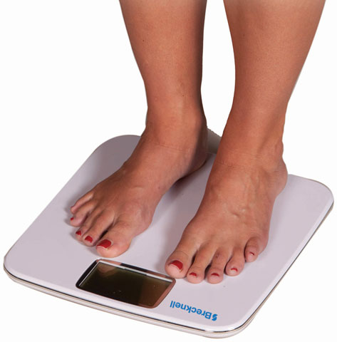 Brecknell BS-180 Bathroom Scale Scales
