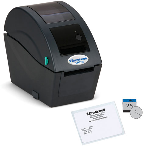 Brecknell LP-250 Thermal Barcode Label Printer