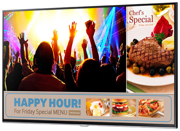 Samsung SMART Signage TV Digital Signage Displays